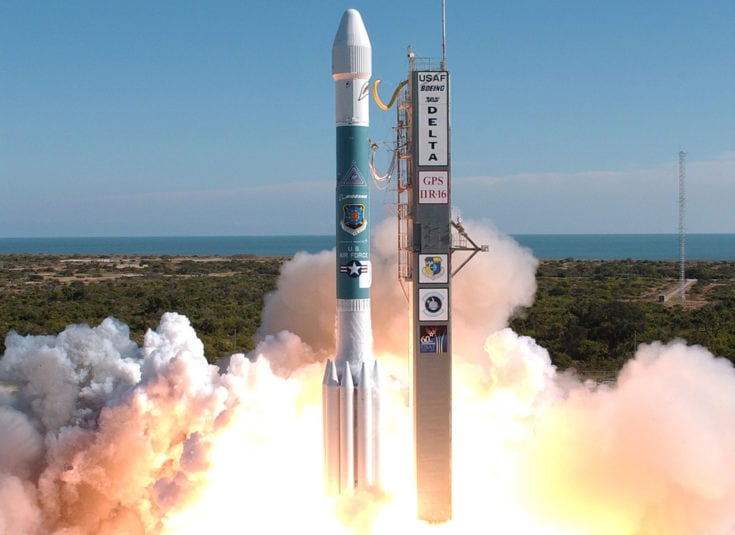 Delta II 7925 launch with GPS IIR-16
